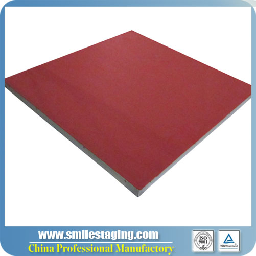 4ft x 4ft Red Carpet Surface Stage Panel Modular