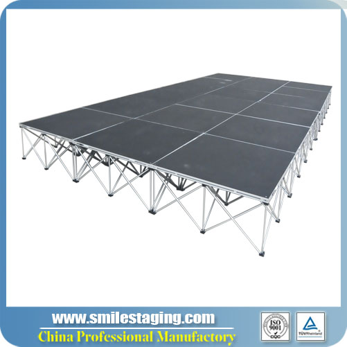 Wholesale 12' x 24' Portable Stage Systems Directly From Manufacturer