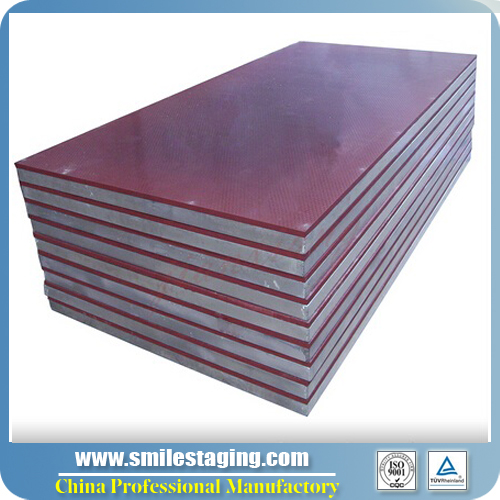 1 x 2M Red Carpet Finish Stage Panel