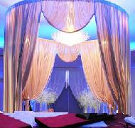 Diy Wedding Tent with pipe and drape
