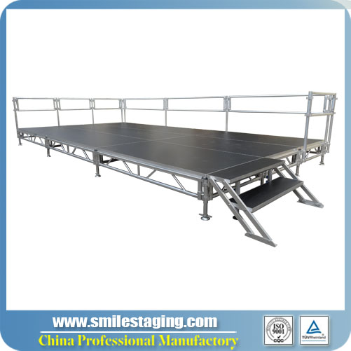 12ft x 24ft Aluminum Stage Systems