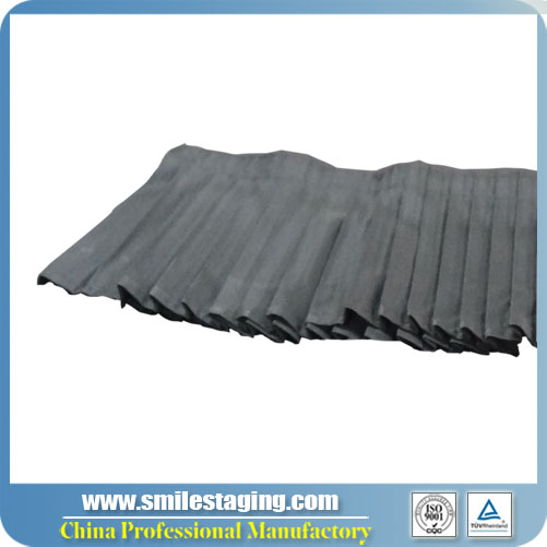4ft x 8''(W X H)Skirt For Portable Stage