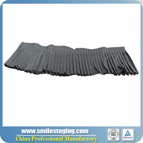 2m x 0.2m(W X H)Skirt For Portable Stage