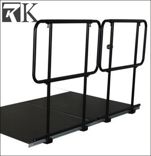 cheap guard rails for portable dance stage in big event show