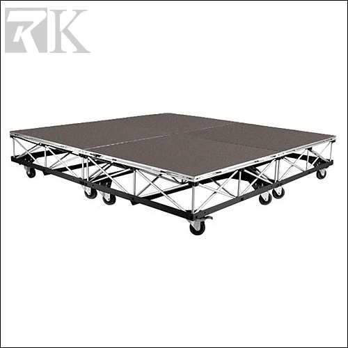 RK manufactures portable drum stage