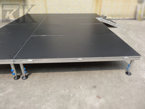 RK portable wooden stage will provide the platform for success