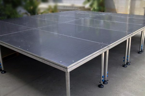 offering lightweight movable Aluminum portable stage
