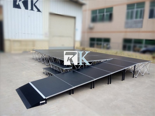 6 x 6 portable dance stage