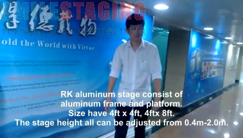 Smilestaging aluminium stage