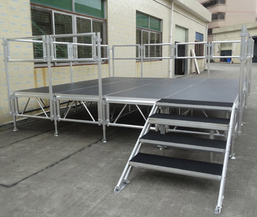 Aluminum stage part and accessories
