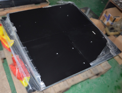 pipe drape - base plate