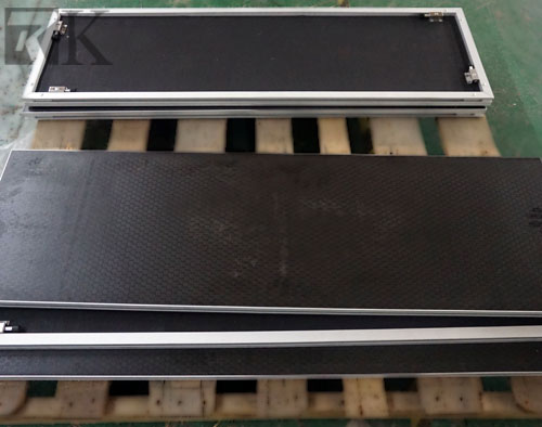 portable stage rectangle shape platform